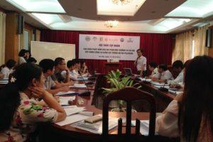 """Khóa tập huấn """"Các biện pháp đảm bảo an toàn môi trường và xã hội – Xây dựng công cụ giám sát trong Dự án PES/REDD"""""""
