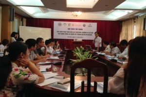 "Training on ""Environmental and social safeguard measures – Develop monitoring tools for PES / REDD project"""