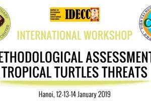 """Tin về hội thảo quốc tế """"Phương pháp đánh giá mức độ nguy cấp của các loài rùa vùng nhiệt đới"""""""