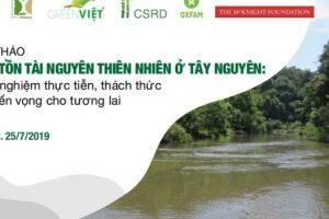 Thúc đẩy bảo tồn tài nguyên thiên nhiên dựa vào cộng đồng tại Tây Nguyên