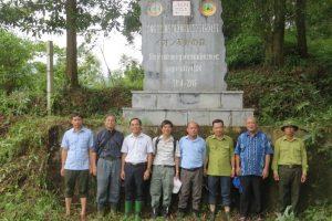 Viện Tài nguyên và Môi trường kiểm tra công tác chăm sóc và bảo vệ rừng trồng tại Vườn Quốc gia Ba Vì thuộc Dự án phục hồi rừng do Quỹ Môi trường AEON, Nhật Bản tài trợ