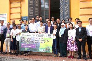 """Hội thảo Đông Nam Á lần thứ 43 """"Tăng trưởng kinh tế, Sinh thái và Bình đẳng: Bài học từ Việt Nam"""""""