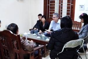 Tin đi thực địa lần 1 của dự án Nghiên cứu về Đồng bằng