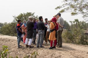 Fieldwork activities in Bangladesh of Component 4