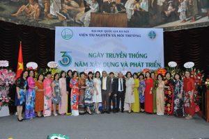 Viện Tài nguyên và Môi trường tổ chức buổi lễ 35 năm ngày truyền thống xây dựng và phát triển