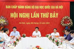 Hội nghị lần thứ 7 Ban Chấp hành Đảng bộ ĐHQGHN thông qua nhiều nội dung quan trọng