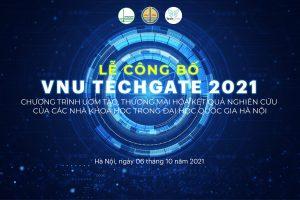 VNU Techgate 2021: Thúc đẩy nghiên cứu và chuyển giao sản phẩm khoa học công nghệ vào thực tiễn xã hội